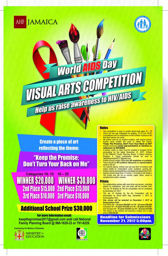 World AIDS Day Arts Competition